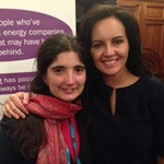 Picture with Caroline Flint MP
